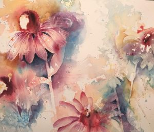 Introduction to Floral Painting with Hillary White @ Art in the Valley
