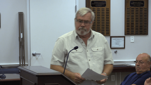 Walter Mabe is on the ballot in November for Board of Supervisors representing the Shenandoah District, currently held by Tom Sayre.