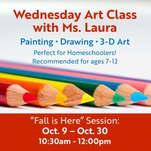"Art Class ""Fall is Here"" @ Art in the Valley"