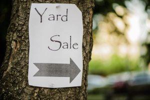 Huge Annual Yard Sale @ YARD SALE