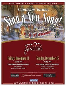 Canticum Novum: Sing a New Song @ Front Royal Presbyterian Church