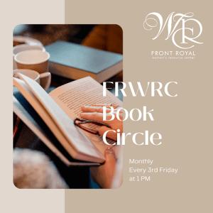 FRWRC Book Circle @ ONLINE - Zoom Meeting
