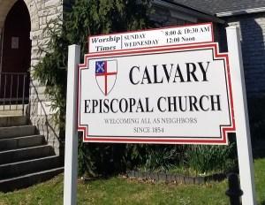 Annual Yard Sale @ Calvary Episcopal Church
