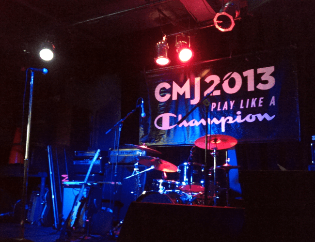 CMJ 2013 Party Stage