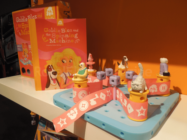 GoldieBlox  (Toy Fair 2014)