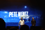 Guitar Hero Live NYC Event - Pete Wentz Gameplay