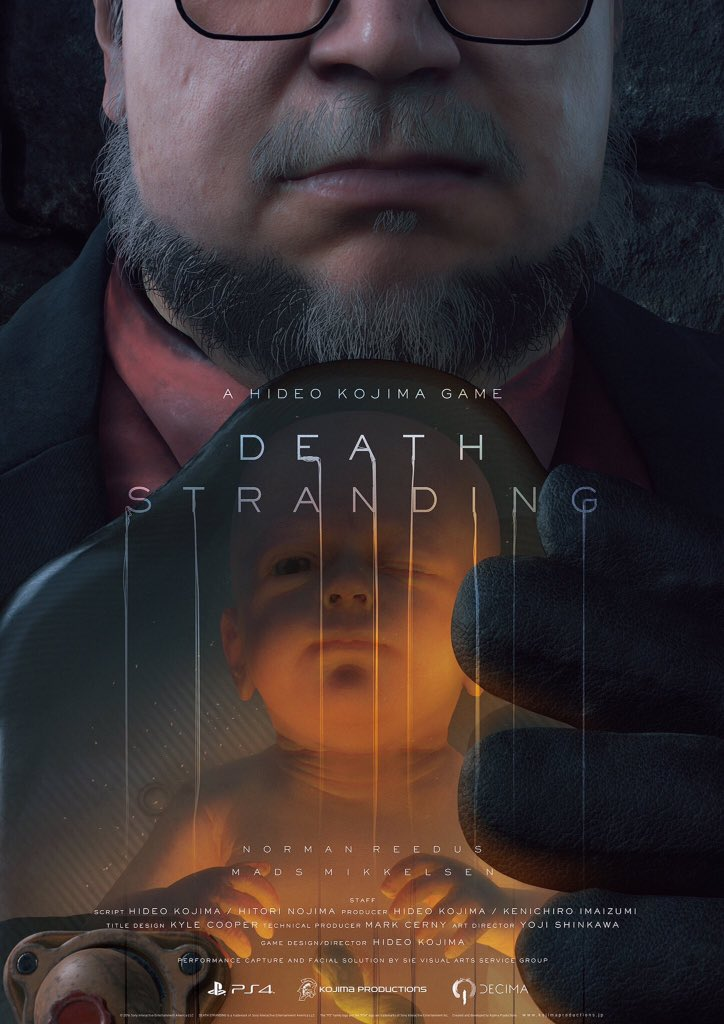The Game Awards 2016: Death Stranding Art