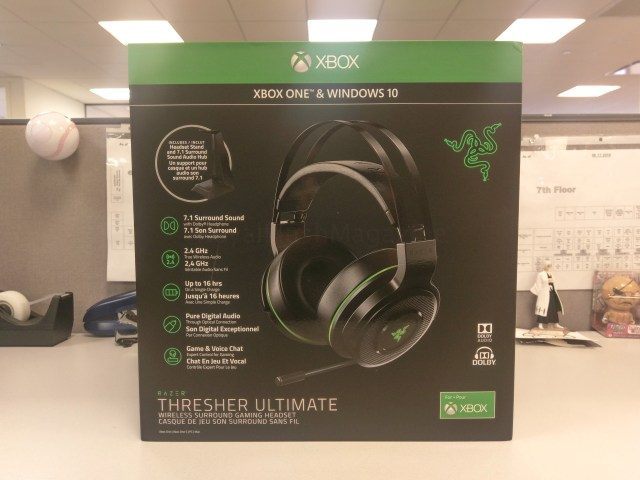 RFMag Holiday Gift Guide 2017: Razer Thresher Ultimate Wireless Xbox One Headset