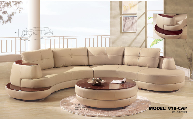 contemporary sofa with wood trim leather reclining chaise global furniture – 918 cappuccino sectional royal ...