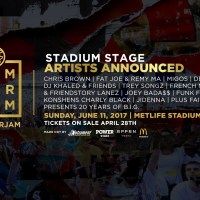 HOT 97 SUMMER JAM STADIUM STAGE ARTIST ANNOUNCEMENT