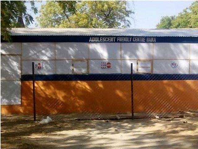 Newly Constructed Adolescent Friendly Centre by RHHF at Bama, Bama LGA.