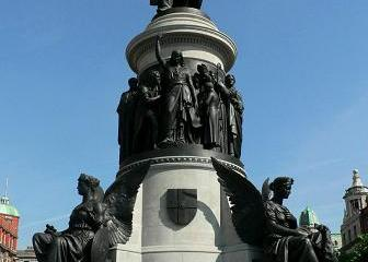 O'Connell Monument, O'Connell Street, Dublin