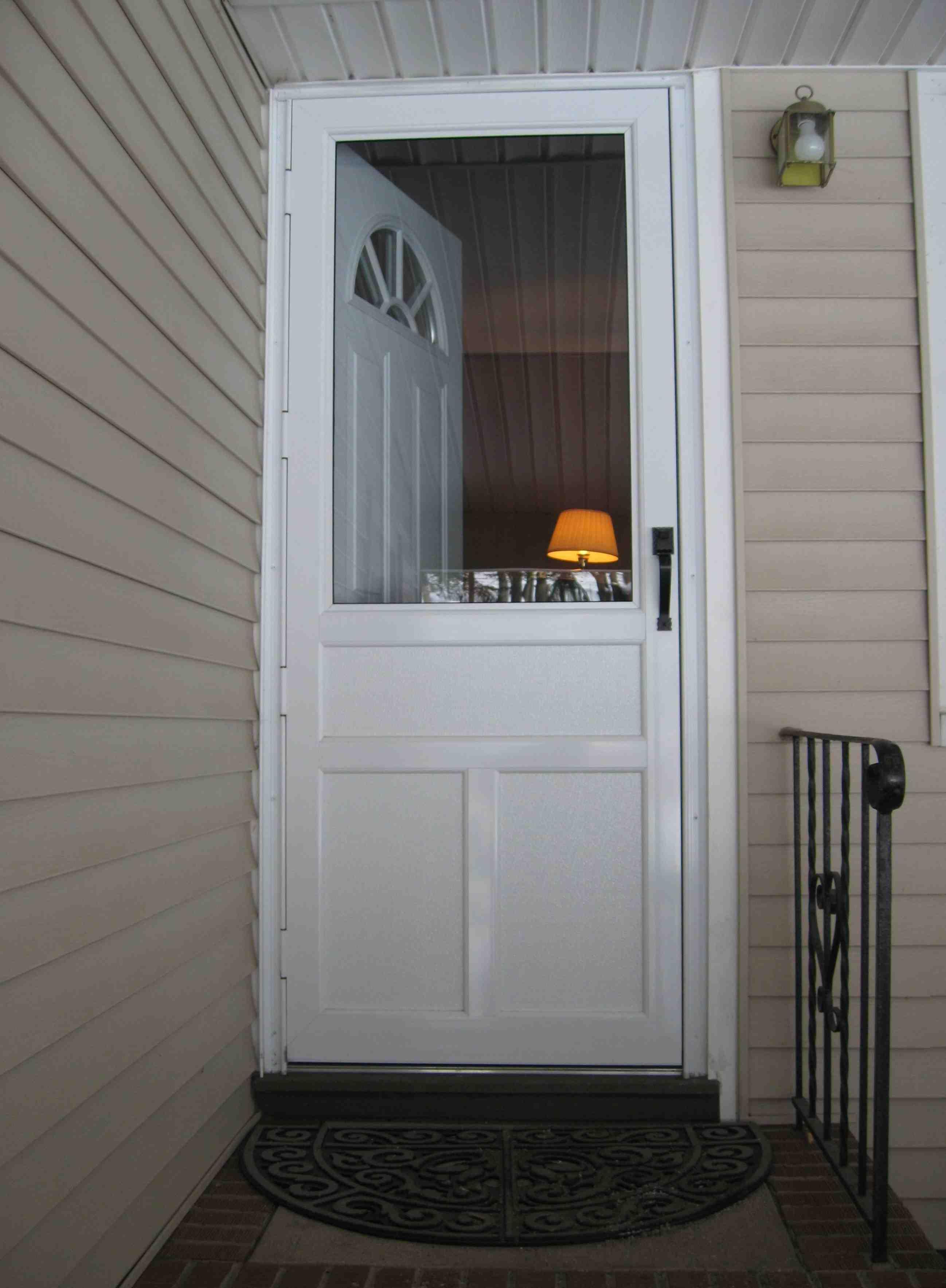 Storm Door For Patio Door