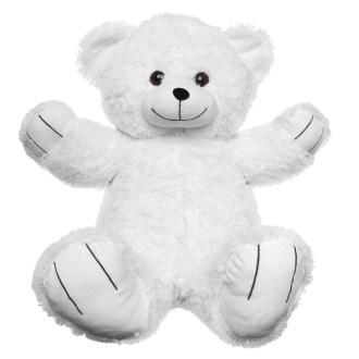 big rory white teddy bear plush stuffed animal 36in
