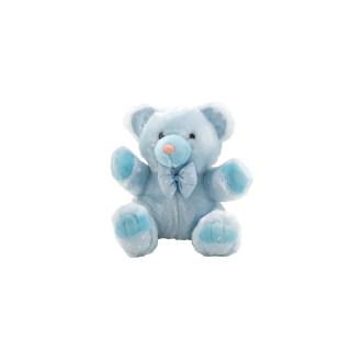 "Light Blue Teddy Bear Plush Stuffed Animal, 8"""