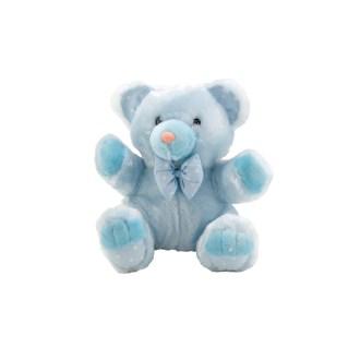 "Light Blue Teddy Bear Plush Stuffed Animal, 10"""