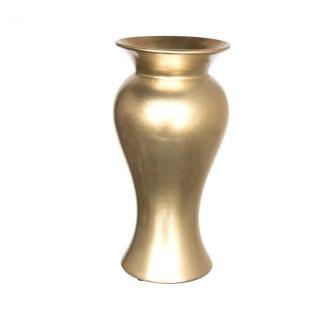 ceramic gold owl flower vase