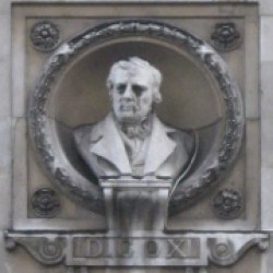 Bust of David Cox