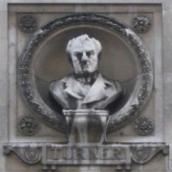 Bust of J M W Turner