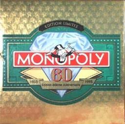 Monopoly édition limitée 60 ans