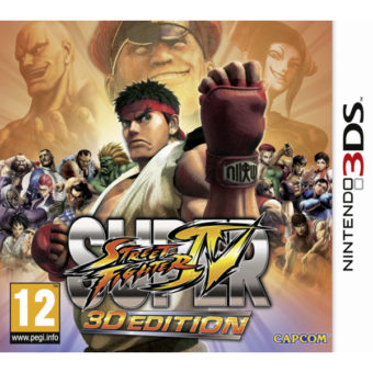 3DS STREET FIGHTER IV 3D EDITION