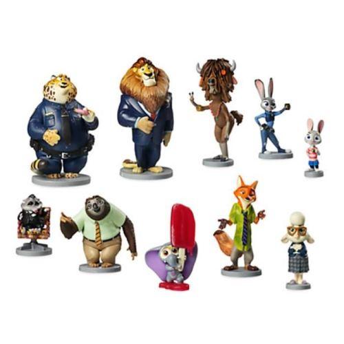 Zootopia de Disney Ensemble de 10 figurines en PVC exclusif