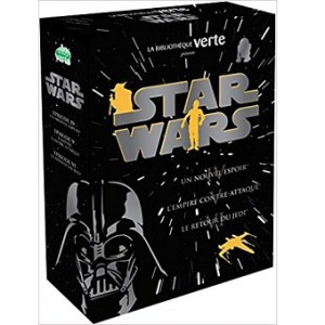 Coffret livre Star Wars Episode IV, V et VI