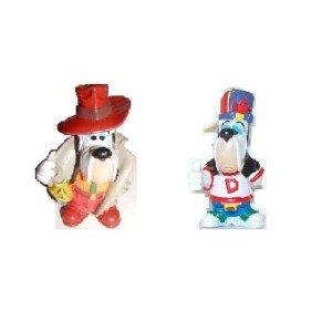 2 figurines Droopy 1997