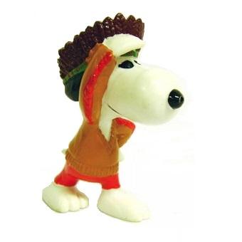 Figurine Snoopy Indien