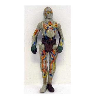 C3PO (Z6Po) fig Star Wars LFL 2001 Hasbro