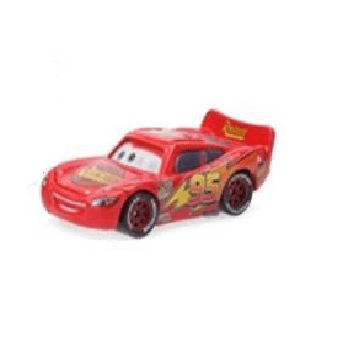 Figurine Flash McQueen yeux mobile Cars Disney/Pixar