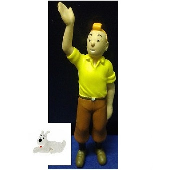 Tintin et Milou 2 figurines ML 09