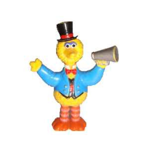 BIG BIRD 1 RUE SESAME figurine