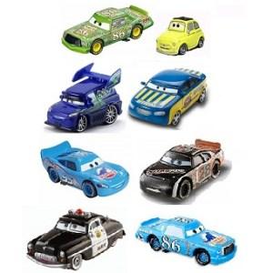 8 voitures Cars avec les yeux mobiles Lot Disney/Pixar