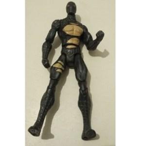 Spiderman 2007 Noir avec costume déchiré Marvel Hasbro 14 cm