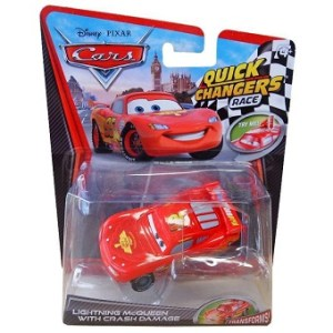 Flash McQueen Cars quick changers race Disney/Pixar