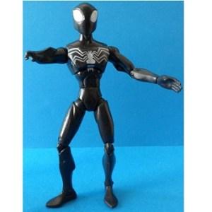 Spiderman noir 2008 Marvel Adelaide Hasbro 15 cm