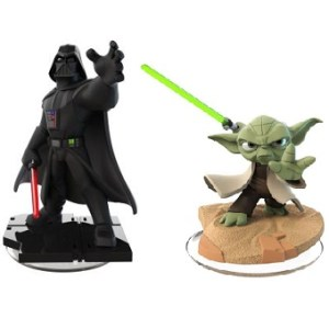 Dark Vador+Yoda Figurines Disney Infinity