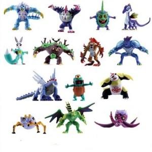 Invizimals Lot 14 figurines