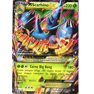 M scarhino EX Carte Pokemon
