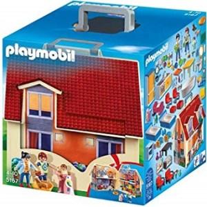 Maison Playmobil portatif 5167 complet comme neuf