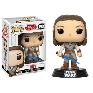 REY Figurine Funko Pop Star Wars n°190