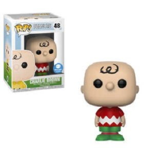 POP N°48 Charlie BROWN Peanuts noël.