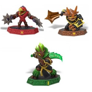 Figs Skylanders Imaginators Ambush+Mystical The KWON Crow Hybride+Tri Tip