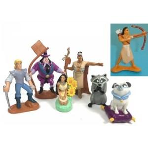 Pocahontas 7 figurines Disney