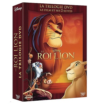 Le Roi Lion Coffret collector Trilogie Neuf sous blister