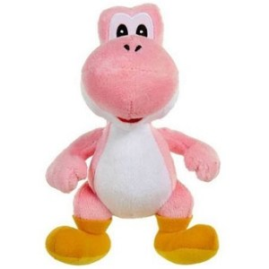 Yoshy rose Peluche Super Mario Bros.