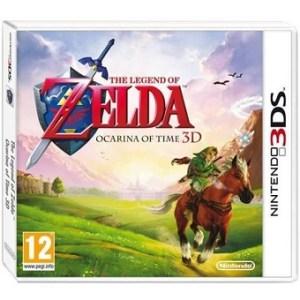 The Legend of Zelda ocarina of time 3D jeu 3DS