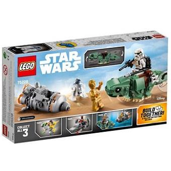 Lego Star Wars 75228 Capsule de sauvetage contre Microfighter Dewback Neuf