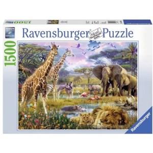 Puzzle Afrique multicolore 1500 pièces RAVENSBURGER